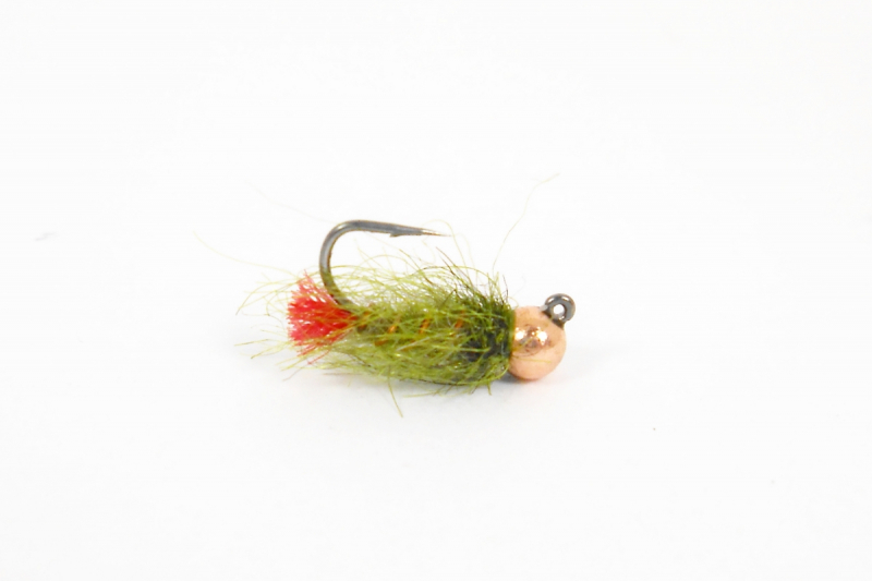 Нимфа Copper Jig Olive