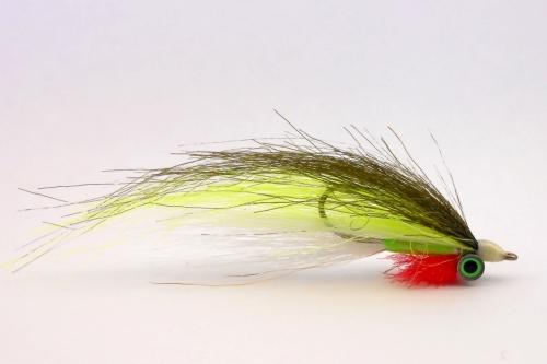 Стример Clouser KF(Olive-Chartreuse)