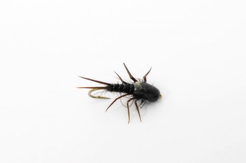 Нимфа Stonefly Black